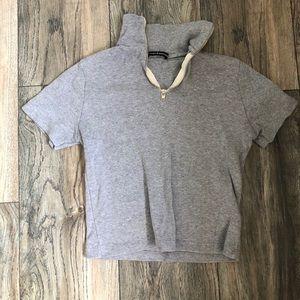 Grey brandy shirt never worn